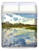 Glades Reflective 2 Duvet Cover