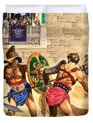Gladiators Duvet Cover