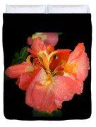Gladiolus Bloom Duvet Cover