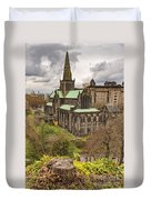 Glasgow Cathedral From The Necropolis Duvet Cover