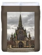 Glasgow Cathedral Front Entrance Duvet Cover