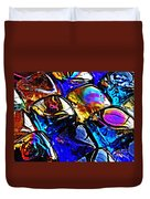 Glass Abstract 11 Duvet Cover
