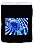 Glass Abstract 110 Duvet Cover