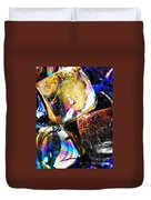 Glass Abstract 114 Duvet Cover