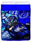 Glass Abstract 14 Duvet Cover