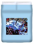 Glass Abstract 219 Duvet Cover
