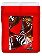 Glass Abstract 500 Duvet Cover