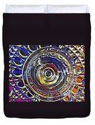 Glass Abstract 587 Duvet Cover