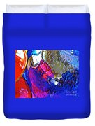 Glass Abstract 609 Duvet Cover