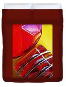 Glass Abstract 649 Duvet Cover