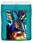 Glass Abstract 687 Duvet Cover