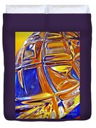 Glass Abstract 768 Duvet Cover