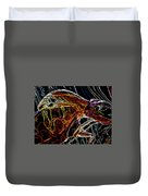 Glass Abstract Duvet Cover