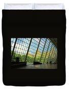 Glass Atrium Architecture Duvet Cover