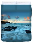 Glass Beach Dawn Duvet Cover