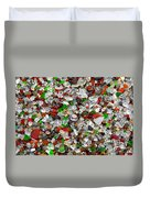 Glass Beach Fort Bragg Mendocino Coast Duvet Cover