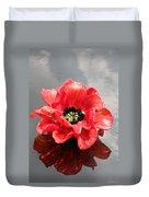 Glass Flower Duvet Cover