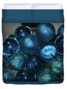 Glass Grapes Duvet Cover