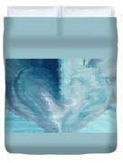 Glass Heart Duvet Cover