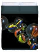 Glass Marbles Duvet Cover