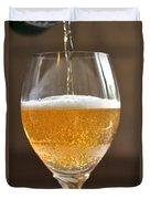 Glass Of Lager Duvet Cover