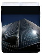 Glass Office Building Duvet Cover