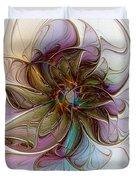 Glass Petals Duvet Cover