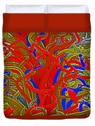 Glass Sculpture A-la Monet 2 Duvet Cover