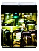Glass Table Duvet Cover