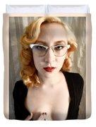 Glasses Duvet Cover