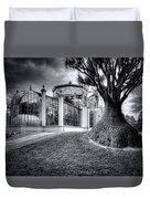 Glasshouse And Tree Duvet Cover