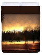 Glassy Dawn Duvet Cover