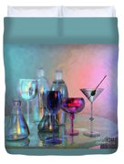 Glassy Still Life Duvet Cover