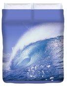 Glassy Wave Duvet Cover by Vince Cavataio - Printscapes