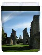 Glastonbury Abbey 3 Duvet Cover