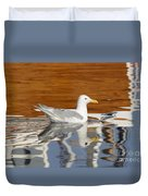 Glaucous-winged Gull Duvet Cover