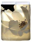 Gleaming White Duvet Cover