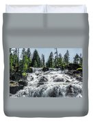 Glen Alpine Falls 7 Duvet Cover