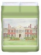 Glen Cove Mansion Duvet Cover