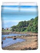Glen Cove Rocky Beach Duvet Cover