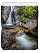 Glen Ellis Falls Autumn Duvet Cover