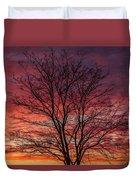 Glen Iris Sunrise Duvet Cover
