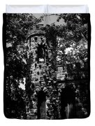 Glen Island Castle  Duvet Cover
