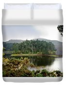 Glencorse Island And Sadness. Duvet Cover