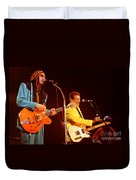 Glenn Frey Joe Walsh-0980 Duvet Cover