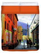 Glenwood Alleyscape Duvet Cover
