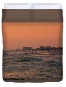 Gliding The Beach Duvet Cover