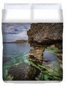 Glimpses Of Sicily Duvet Cover