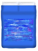 Glints On The Water Duvet Cover