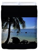 Glistening Anini Beach Duvet Cover by Kathy Yates